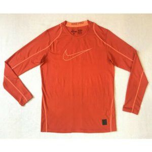NIKE PRO Orange Stay Cool Fitted Training Shirt XL